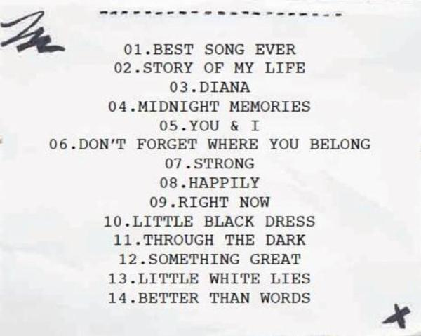 25 novembre : Midnight Memories !