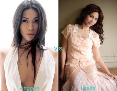 Anggun vs Leslie