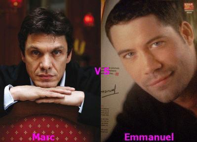 Marc Lavoine vs Emmanuel Moire