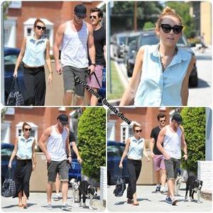 12.05.12 : Miley & Liam déjeunent dans Los Angeles.