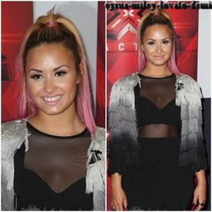 16.06.12 Demi pour les toisiéme audition pour X-Factor a San Francisco