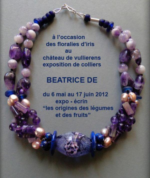 Exposition: Béatrice De.
