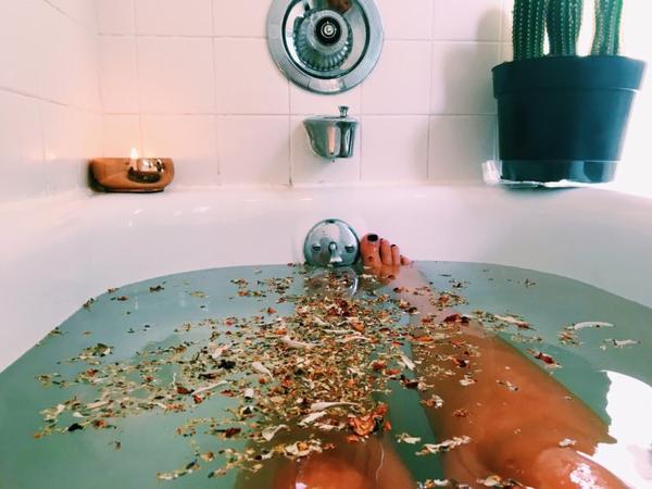 Bien-être ஃ Bombe de bain maison