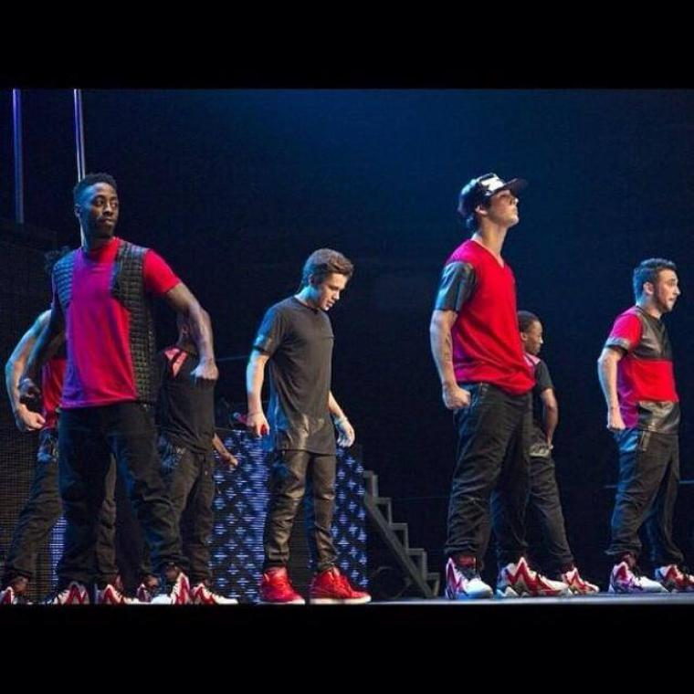 "#INSTAGRAM Austin's Dancer Joshua ""Greensboro tonight!!! I'm so hype """