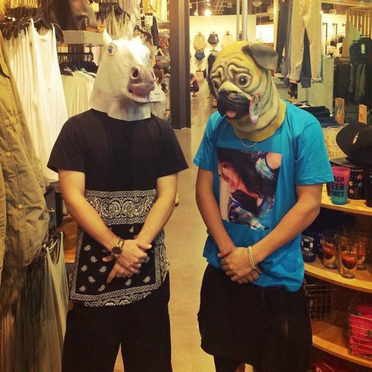 "#INSTAGRAM: Austin "" Guess who? """