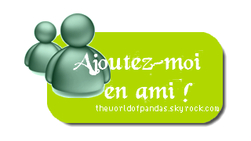 Bienvenue sur TheWorldOfPandas.skyrock.com