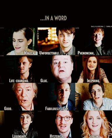 Qelle est votre Acteur ou Atcices préférer dans Harry Potter ? ...