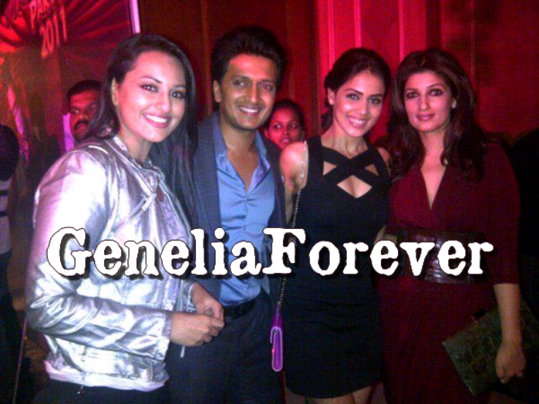 Genelia @ 17th Anniversary of Bombay Times