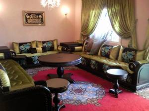salon marocain 2012 agnaou décor Agadir