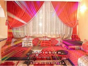 Rideaux salon marocain