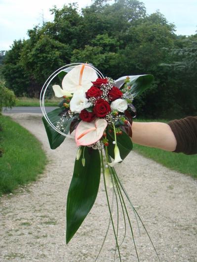 bouquets de mariés retombants 2