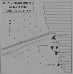 """L'histoire peu connue du point d'appui """"Trakehnen"""" W 325 La Longue"""