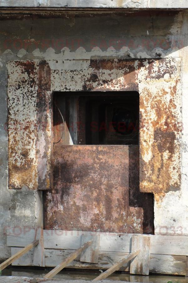 Les bunkers du parc de la cheneraie