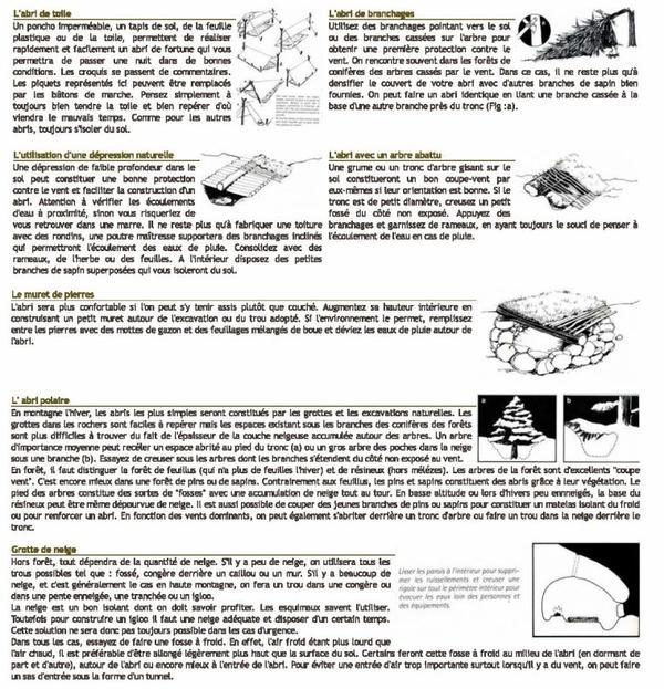 Trucs et conseils : comment survivre en forêt