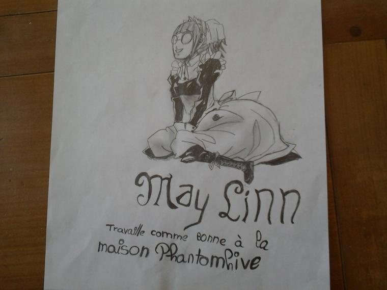 Dessin de May Lynn dans BLACK BUTLER