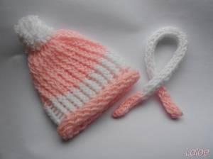 VENTE~Bonnet et écharpe taille pullip/taeyang