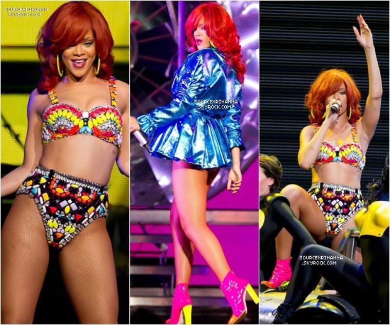 L O U D T O U R  |  23 JUILLET 2O11 Rihanna donne un concert à Philadelphie son « Meet & Greet » est maintenant apparue, elle s'est rendu par la suite dans un club branché. « Cheers (Drink To That) » sera le prochain single de l'album « Loud » de Rihanna.