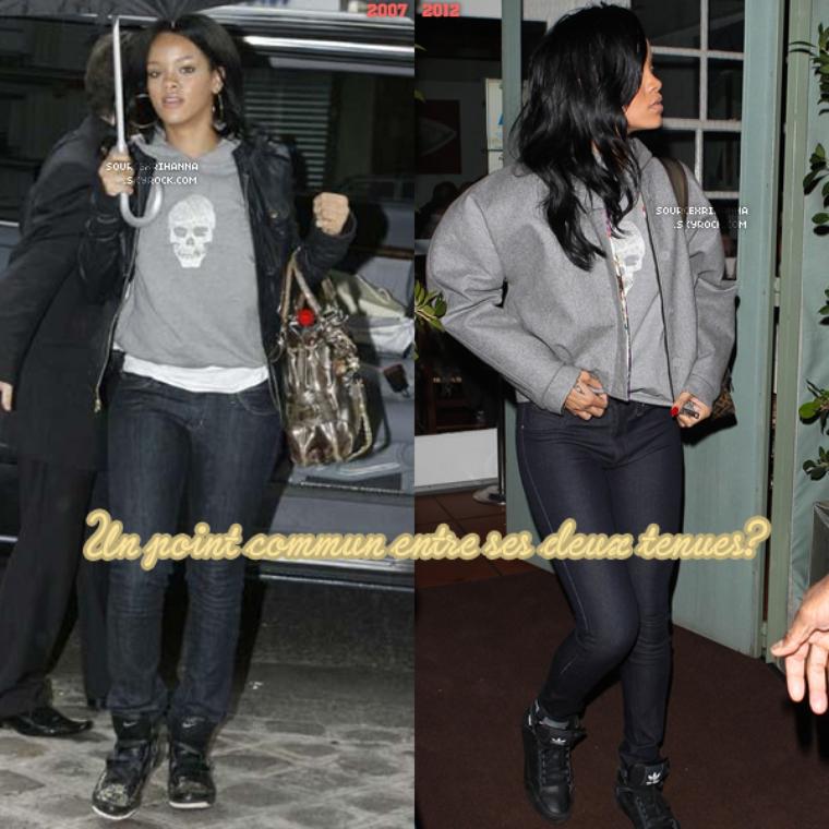Quand Rihanna nous fait du recyclage avec ses pulls !