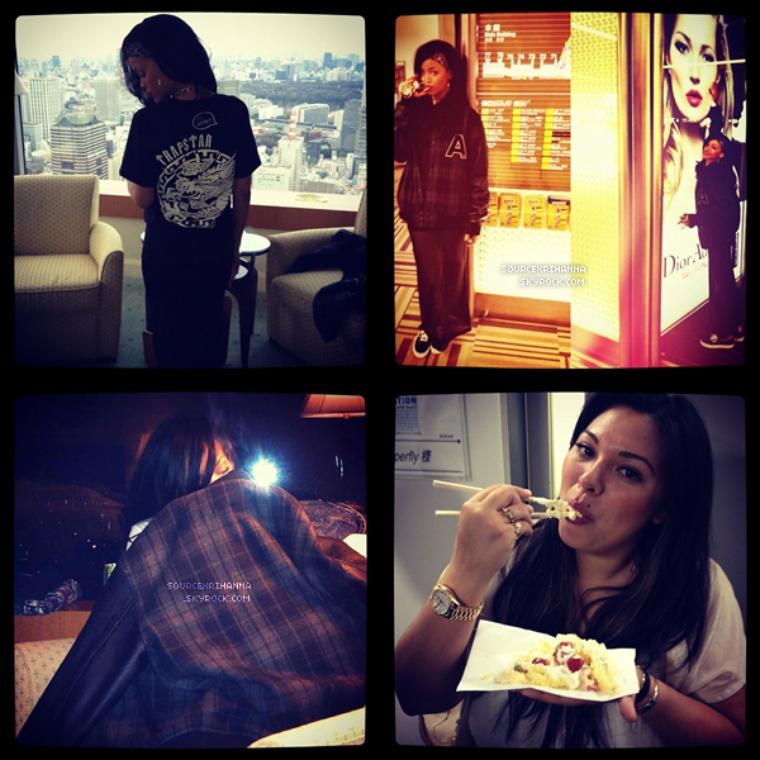 Instagram, Avril 2012.