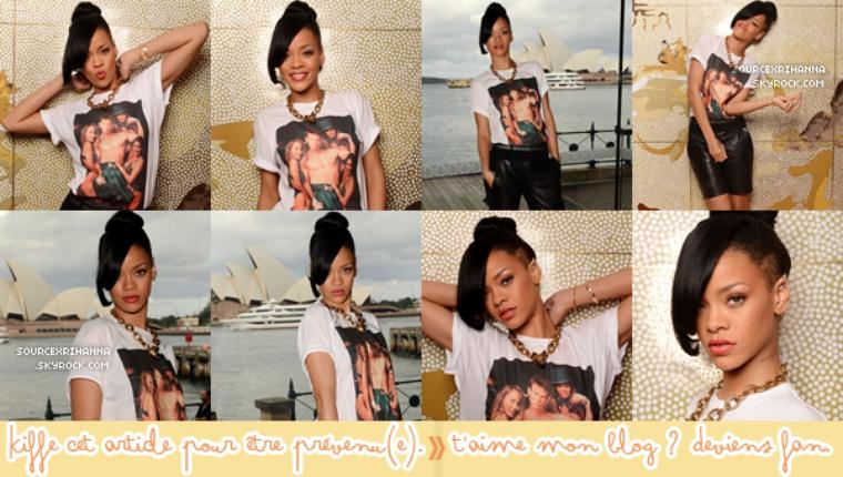 Rihanna à l'évènement pour le film « Battleship » à Sydney !