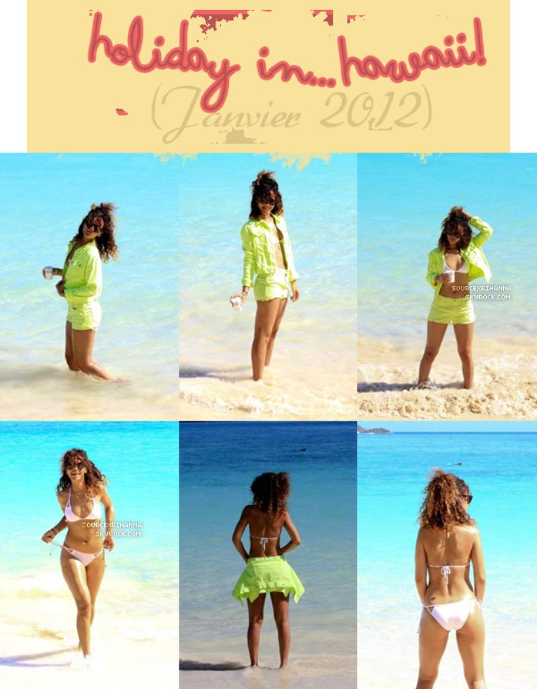 Pour plus de photos (je n'ai pas tout mis) allez sur la page Facebook de Rihanna !