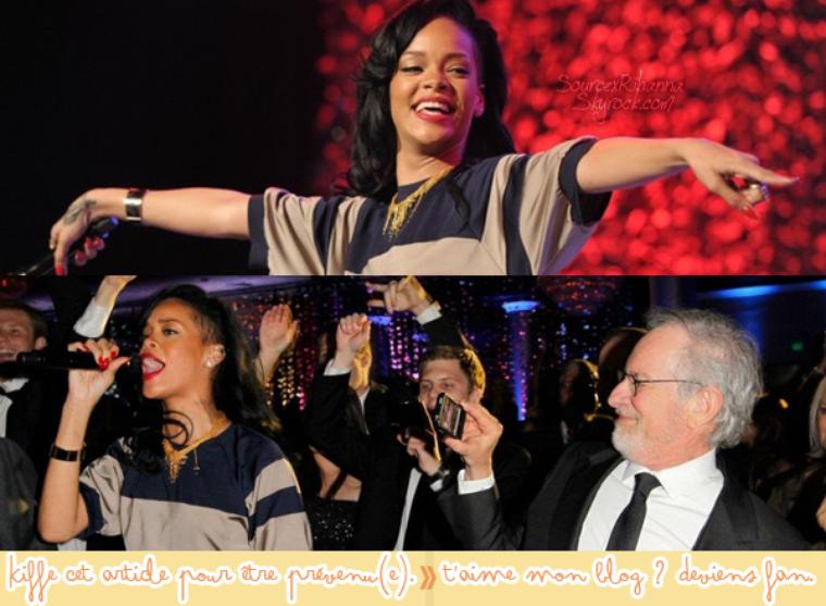 Rihanna au « An Unforgettable Evening » gala en faveur du cancer du sein chez les femmes !
