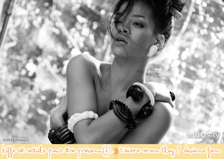 Rattrapage des sorties de Rihanna, + une nouvelle photo de « Where Have You Been » !