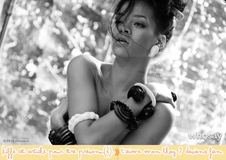 Rattrapage des sorties de Rihanna, + une nouvelle photo de « Where Have You Been » !