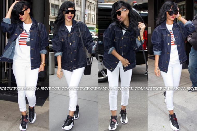 Rihanna aperçue au restaurant « Da Silvano » dans la belle ville de New York !