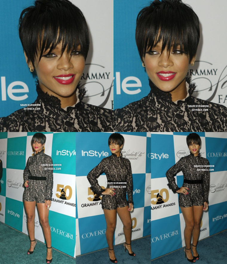 07/02/08: Rihanna à l'évènement In Style Magazines Salute To Fashion à Los Angeles.