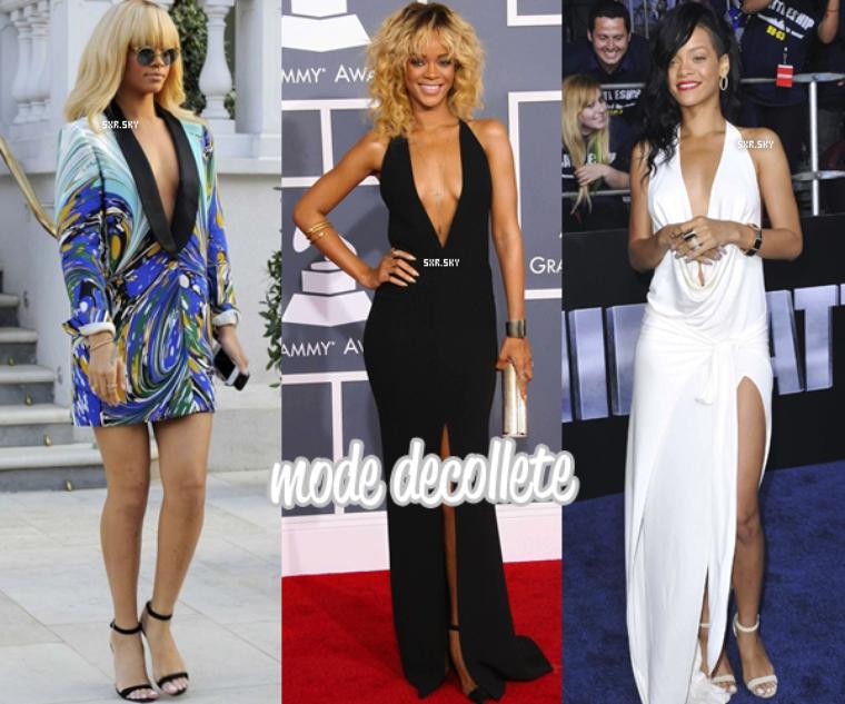 Rihanna et ses styles, ça passe ou ça casse ? Choisis ton style préféré de la belle Barbadienne !