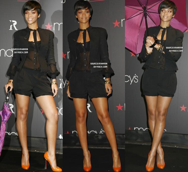 05/02/08: Dîner d'honneur à Rihanna organisé par Cosmopolitan !