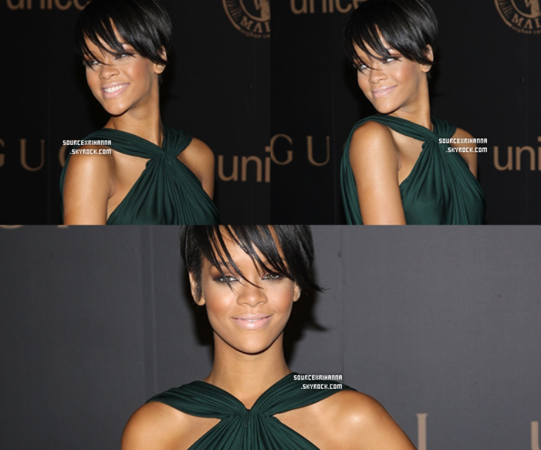 06/02/08: Rihanna à  A Night to Benefit Raising Malawi and UNICEF.