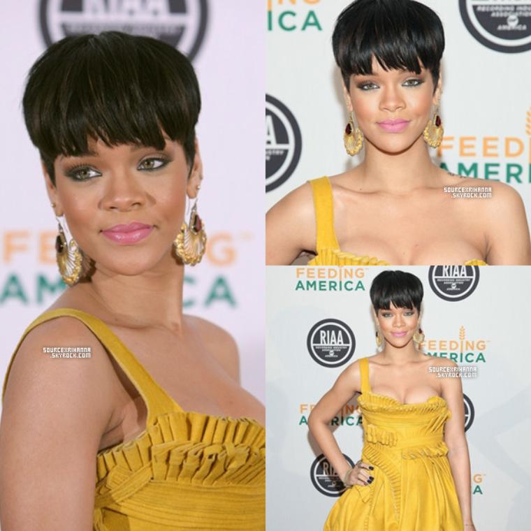 20/01/09: Rihanna à l'évènement RIAA and Feeding Charity Ball à Ibiza.