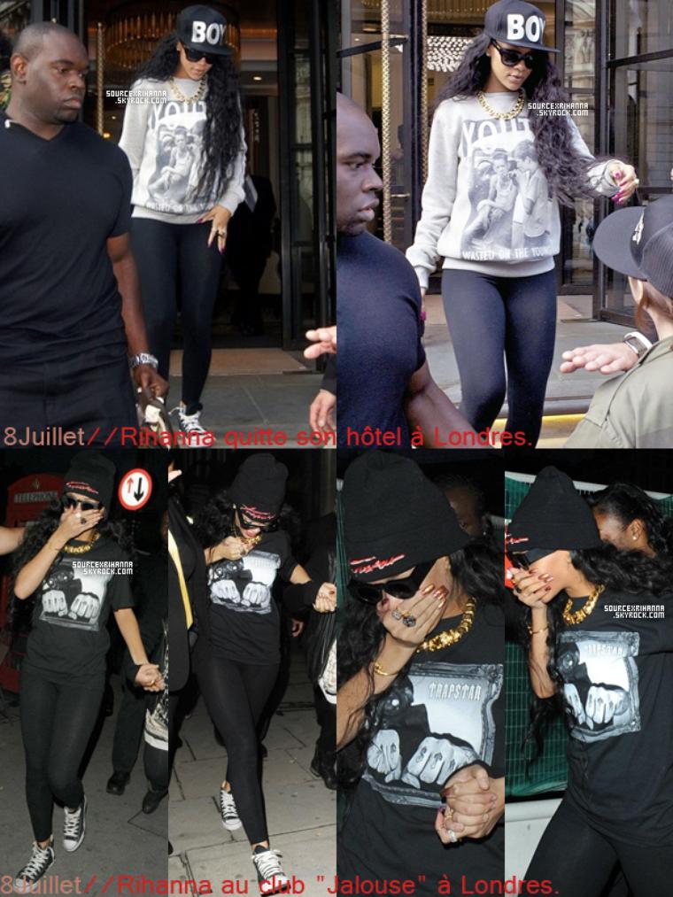 Récapitulatif des sorties et news sur Rihanna pendant mon absence.