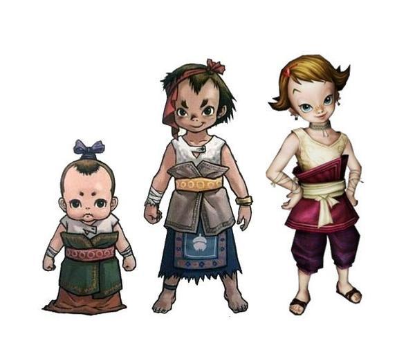 Les enfants de Toal