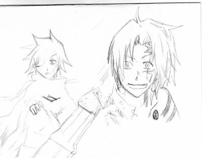 Dessins D.gray-man