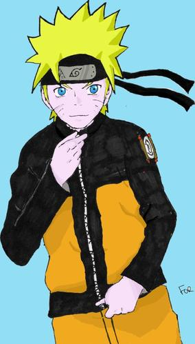 Dessin Naruto