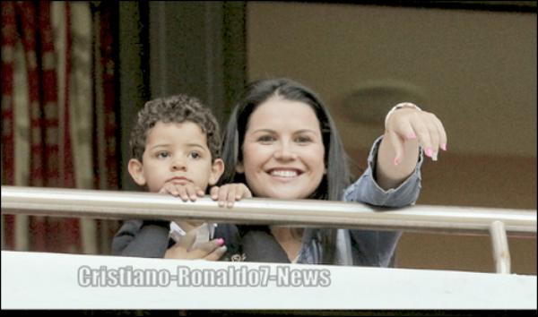 Katia (soeur de Cristiano) & Junior