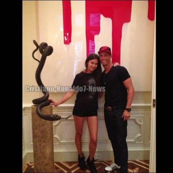 Cristiano Ronaldo & Irina Shayk à New York [Etats-Unis]