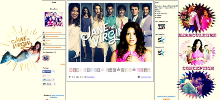 Séries TV - People - Jane The Virgin - Photographie
