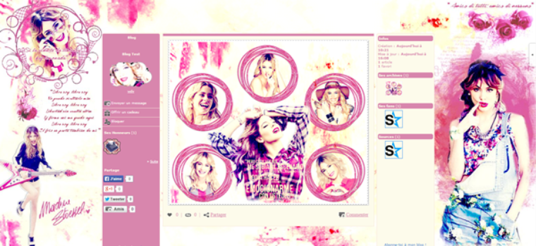 People - Séries TV- Martina Stoessel - Violetta - Photographie -Graphisme - Fiction - Belles Gosses