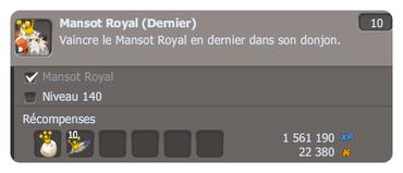 Mansot Royal ? Et pourquoi pas ?