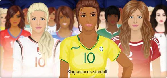 Concours coupe du monde de Football féminin.
