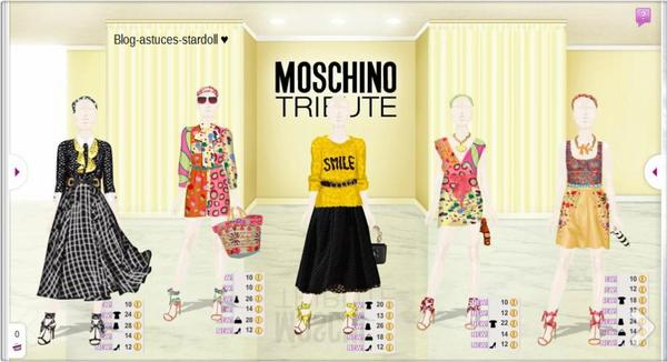 Moschino Tribute.
