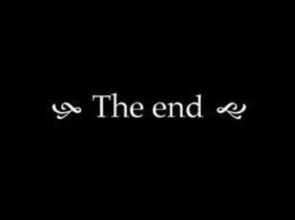 Fin du blog...