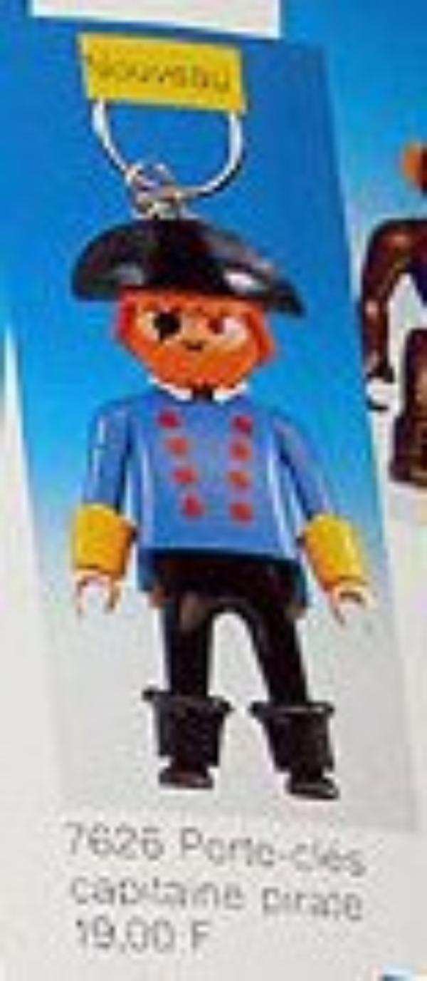 0C PORTES CLEFS 7626 pirate