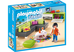 09 Maison Moderne Luxe 5584 Salon Luxe Boble Playmobil Archive S