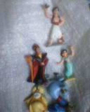 figurines aladdin