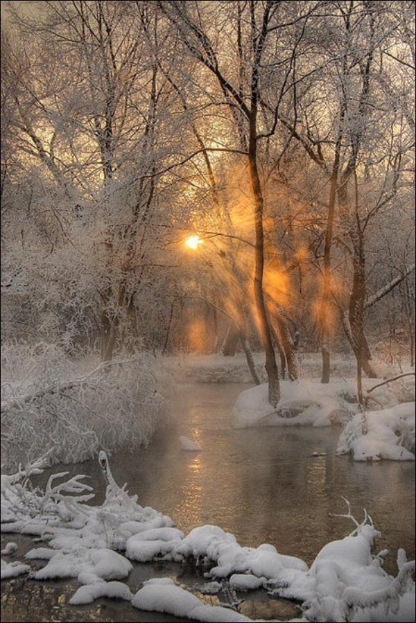 L'hiver arrive doucement et prend place précocement.
